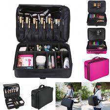 professional large make up bag vanity case cosmetic nail tech storage beauty box