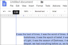 Google Doc Format How To Indent Paragraphs In Google Docs