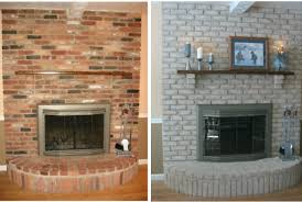 fireplace decorating why paint a brick fireplace can you paint brick interior designing