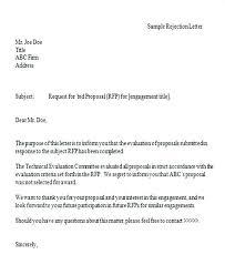 Response To Rfp Sample Response To Rfp Template Free Slipcc Co