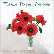 Make A Paper Poppy Flower Flower Crafts For Kids