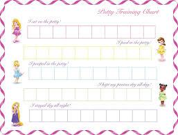 Potty Training Chart Printable Girl Princess Potty Chart Printable Potty Chart Potty Training