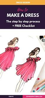 How To Make Fashion Design Dress How To Start Your Journey With Dress Design Dress Design