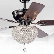 Tiffany Ceiling Fan Light Shades Warehouse Of Tiffany Cfl 8176ch Taliko Ceiling Fan 52 Inch 3 Light Black Metal Housing Crystal Shade Basket Silver
