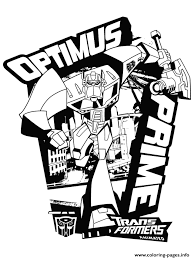 Small Picture transformers optimus prime 3 Coloring pages Printable
