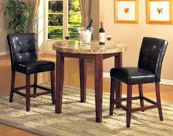 granite top round dining table top comfortable bar height dining table sets design ideas minimalist round