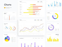 Free Charts For Sketch By Ruslanlatypov For Lstore On Dribbble