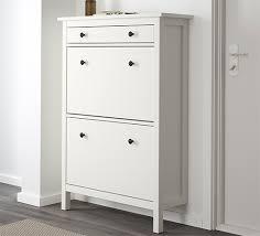 HEMNES shoe cabinet white new lower price