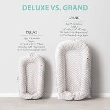 Dock A Tot Size Chart Dockatot Grand Baby Lounger Pristine White