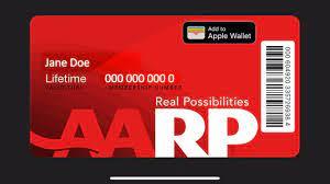 My AARP Digital Card via AARP Now App ...