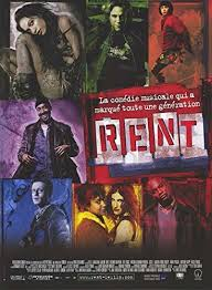 Rent Poster Rent Poster Movie French 11 X 17 In 28cm X 44cm Rosario Dawson