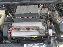 1995 Chevrolet Monte Carlo Z34 Coupe 3.4 Liter DOHC 24-Valve V6 ...