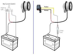 red throttle switch wiring it might be easier to leave the existing light switch in the circuit and simply join the brown and yellow wires to the red and white wires on the back of