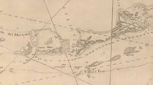 Nautical Charts Cape Coral Florida 18th Century Maps Reveal Massive Loss Of Coral Reefs In The