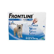 frontline for puppies. Image For Frontline Spot On Flea And Tick Drops Pipettes Medium Dog/Puppy 10- Puppies G