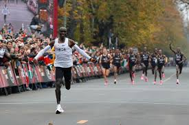 Eliud Kipchoge Breaks Two Hour Marathon Barrier The New