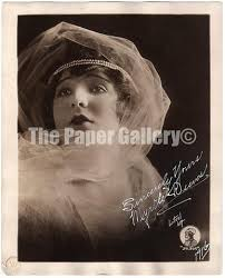 Signed Photograph of Actress Myrtle Reeves | #93613715