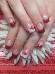 Canada Day Gel Nail Designs Day 182 Canada Day Nail Art Nailsmag Com Nails