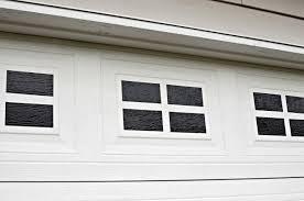 garage door windowsEasy DIY Faux Garage Door Windows  Simply Darrling