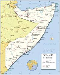 political map of somalia ( pixel)  nations online project