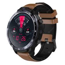 <b>OUKITEL Z32</b> Brown Smart Watch Phone Sale, Price & Reviews ...