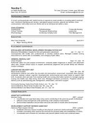 Image Gallery of Very Attractive Design Professional Nursing Resume 13  Registered Nurse Resume Sample