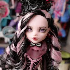 draculaura doll custom ooak monster high by qoru