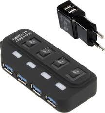 <b>USB</b> - <b>хаб Orient BC</b>-<b>306PS</b> Black [30172] - купить со скидкой до ...