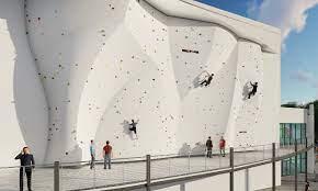 climbing wall facility and gym headed