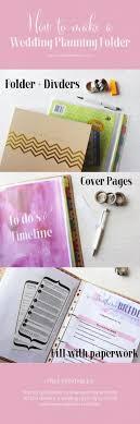 Best 25 Wedding Binder Organization Ideas On Pinterest Diy