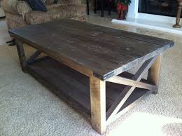 ana white rustic x coffee table diy projects building legs all from rough lumber furniture design