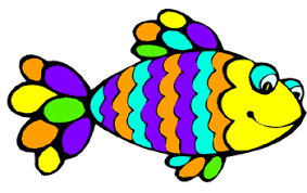 Image result for rainbow fish clipart