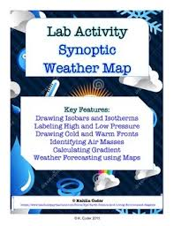 Lab Synoptic Weather Maps With Powerpoint Earth