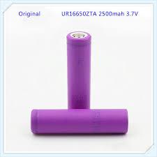 1pc/lot <b>100</b>% <b>Original</b> for Sanyo UR16650ZTA 16650 <b>2500mah</b> ...