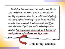 the development of a paragraph ppt video online  10 concluding sentence