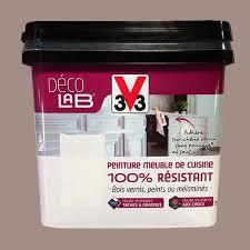 V33 Déco Lab Peinture Meuble De Cuisine 100 Résistant Humus Pas