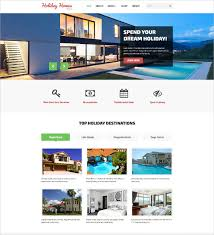 Real Estate Website Templates Interesting The Best Real Estate Website Templates 28 Real Estate Website Themes