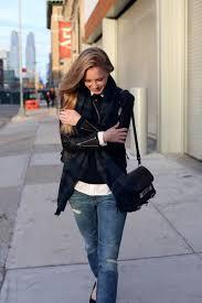 chilly fall days via fashionsquad leather jacket