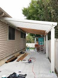 learn how to build a diy patio pergola