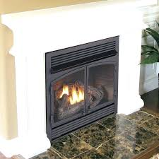 fireplace hearth height gas