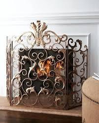 tall fireplace screen 38 inch high famous