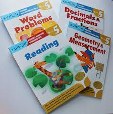 Kumon Math And Reading Kumon Grade 5 Math Verbal Workbooks 4 Books Reading
