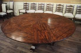 60 round dining table with leaves