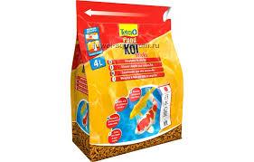 <b>Корм</b> для прудовых рыб <b>Tetra Pond Koi</b> Sticks, гранулы, 4 л ...