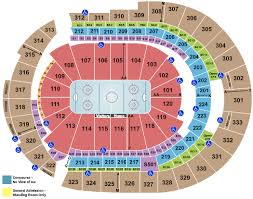 Ryman Seating Chart With Seat Numbers Bridgestone Arena Seating Chart Rows Seat Numbers And