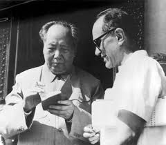 movie review how an american became a revolutionary in mao s  mao zedong signs sidney rittenberg s copy of the little red book at a gathering of party