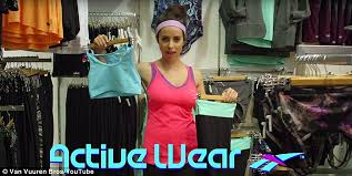 Skit Box video mocks women who wear exercise gear for everyday ... via Relatably.com