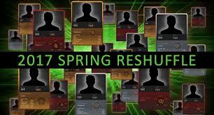 dota 2 news the 2017 spring shuffle log gosugamers