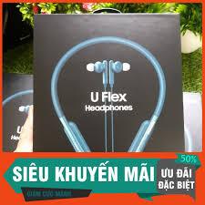 Gía Hấp Dẫn) Tai Nghe Bluetooth Không Dây Samsung Tai Nghe Chống Ồn Thể  Thao Samsung U flex tại Hà Nội