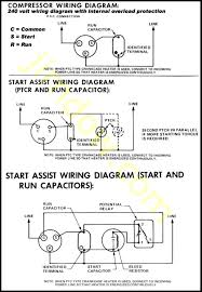 unique air compressor motor wiring diagram and knz me  at Dual Capacitor 220 Volt Air Compressor Wiring Schematic